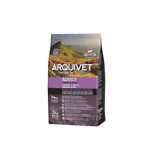 ARQUIVET Adult Agneau & Riz pour Chien Adulte Sensible  15KG