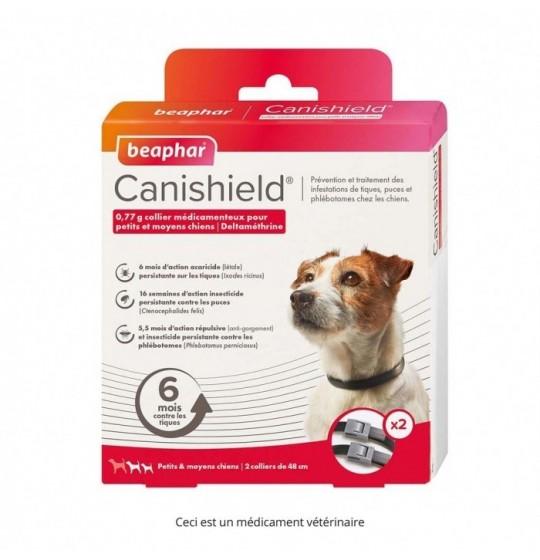 Canishield Petits & moyens chiens par 2